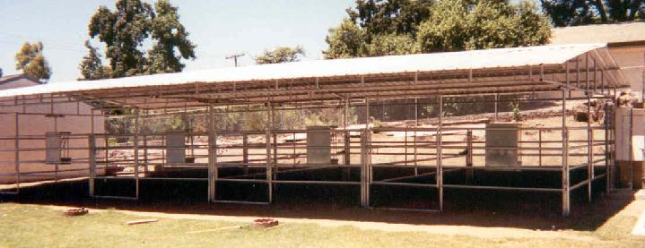 COVERED PANELS/CORRALS