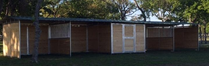 Loafing Shed T&G Custom Stalls